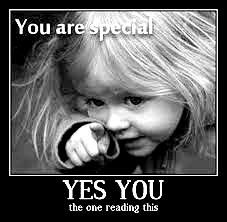 You are special Petite fille1