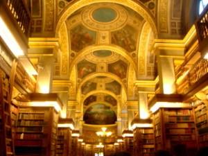 Plafond Bibliothèque
