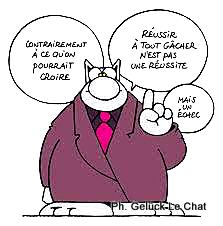 Gelück Le Chat Réussite Echec1
