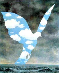 Colombe de la paix Magritte1