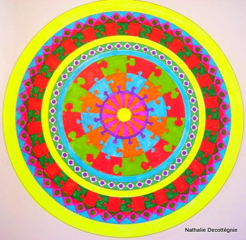 Mandala-Puzzle