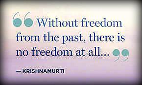 Être proactif Citation Freedom Krishnamurti