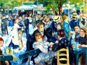 Être proactif A. Renoir Moulin Galette. Renoir Moulin Galette