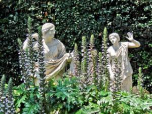 Villa Médicis Statues Jardin