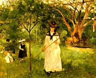 Chasse aux papillons Berthe Morisot1-001