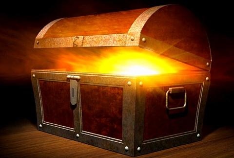 coffre trésor lumière1