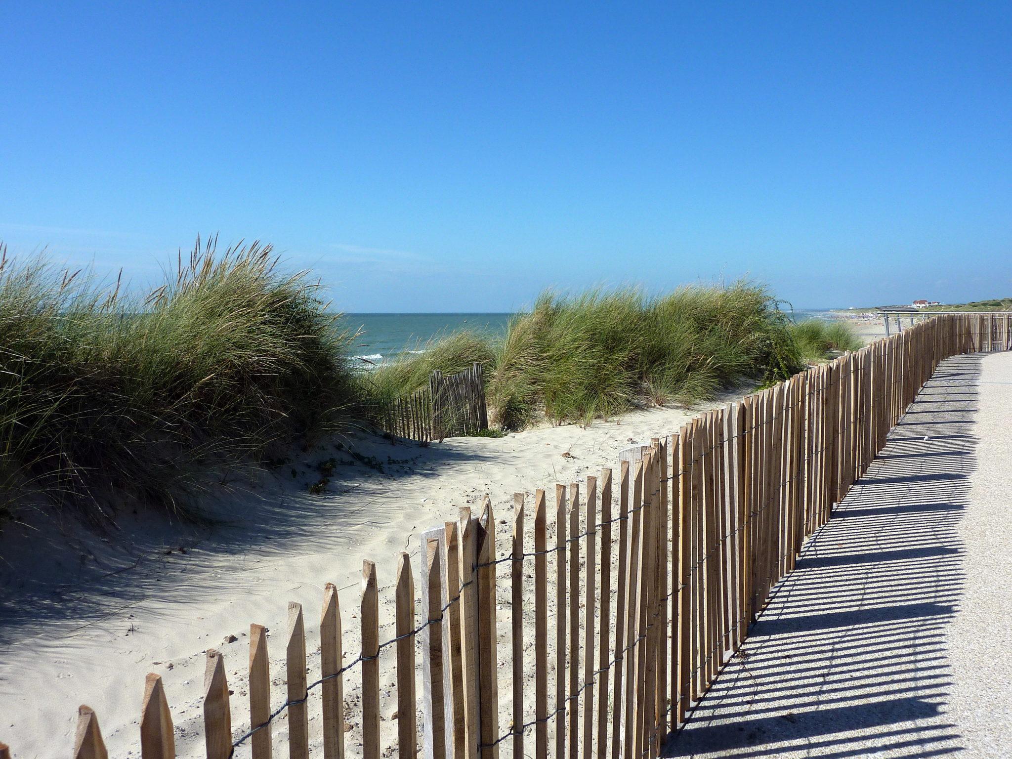 Dunes chemin mer