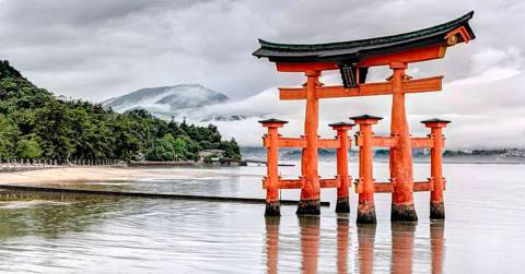 Reiki Shinto Porte arche bois1