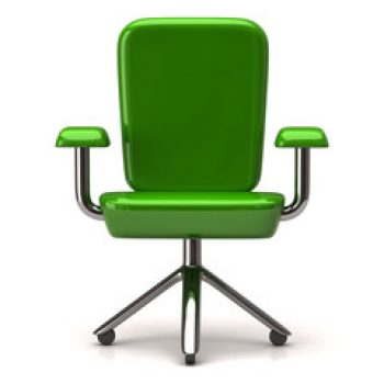 Chaise vert (vie pro)