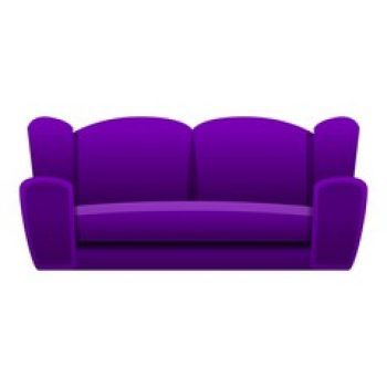 Sofa violet (vie perso)